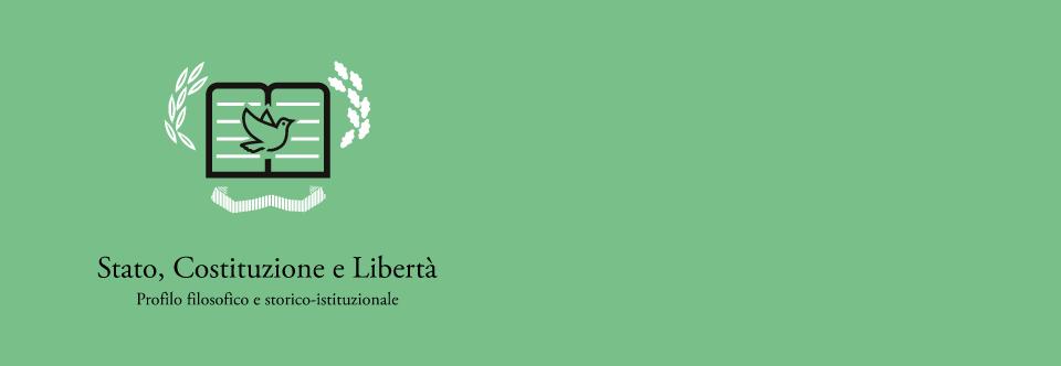 Stato, Costituzione e Libertà